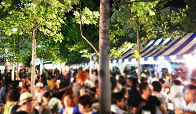 夏の宵「目黒川夜市」開催