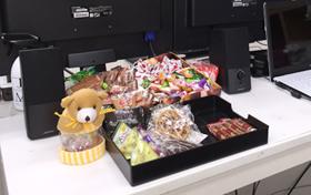 お菓子コーナー